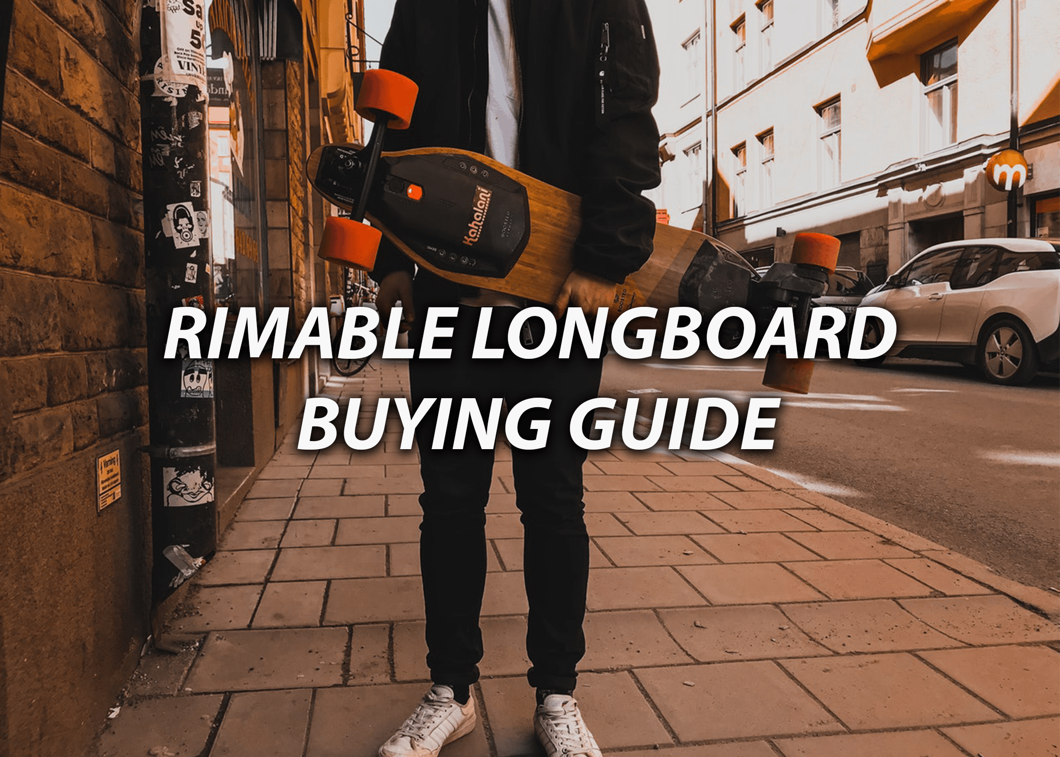 Persn Holding Rimable Drop Through Longboard